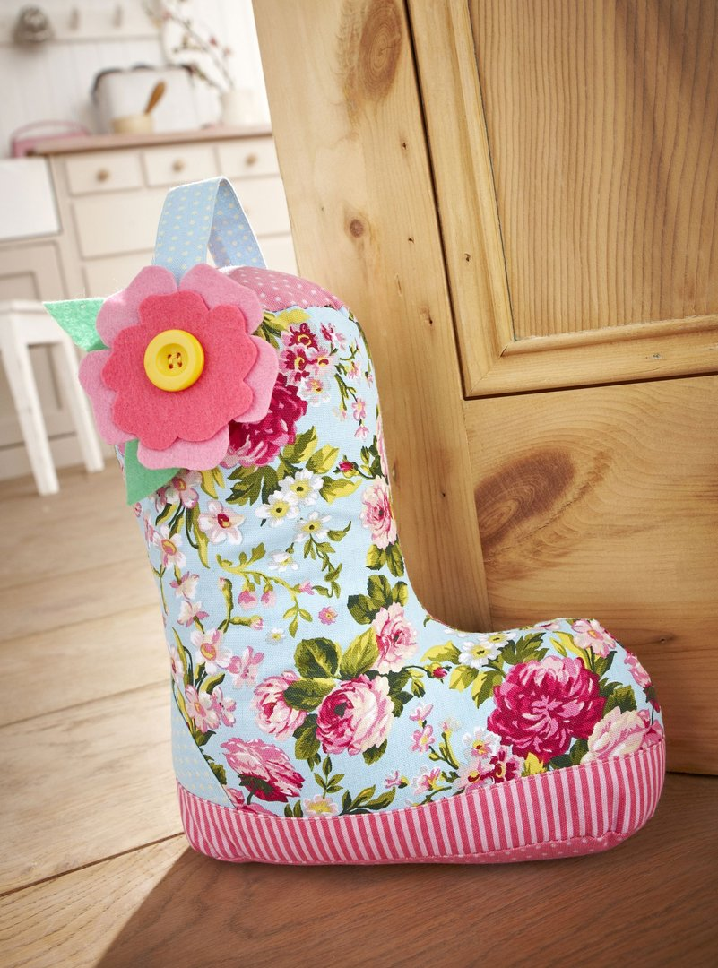 Wellie Boot Doorstop Ulster Weavers