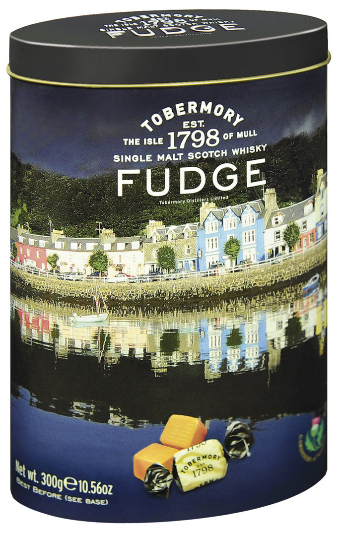 Tobermory Whisky Fudge Gardiners of Scotland