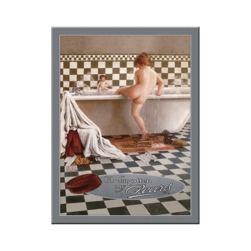 Bad Pears Bath Magnet Nostalgic Art