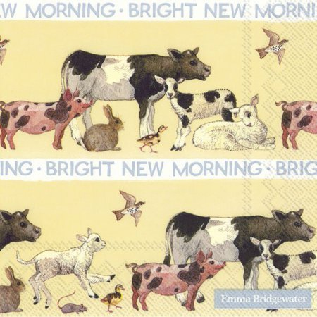 Bright New Morning Emma Bridgewater Serviette