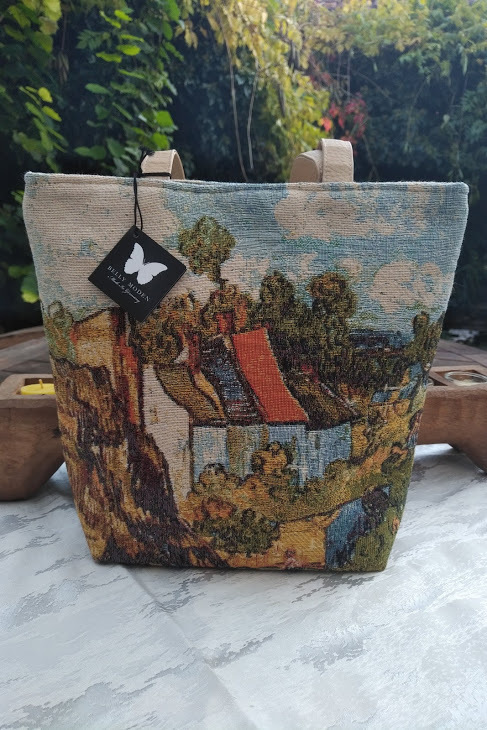 Tasche Landschaft Kunst Shopper Belly Moden