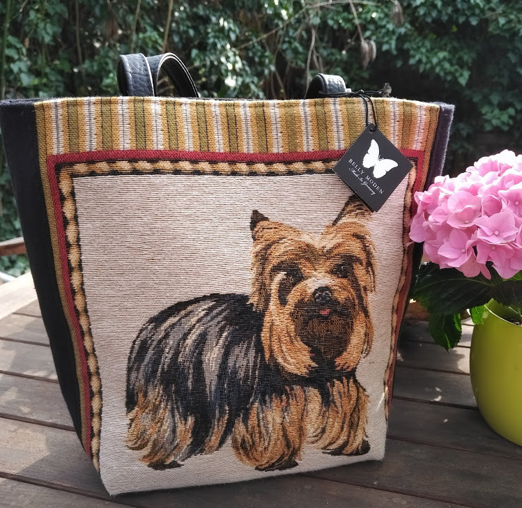 Yorkshire Terrier Shopper Tasche Belly Moden