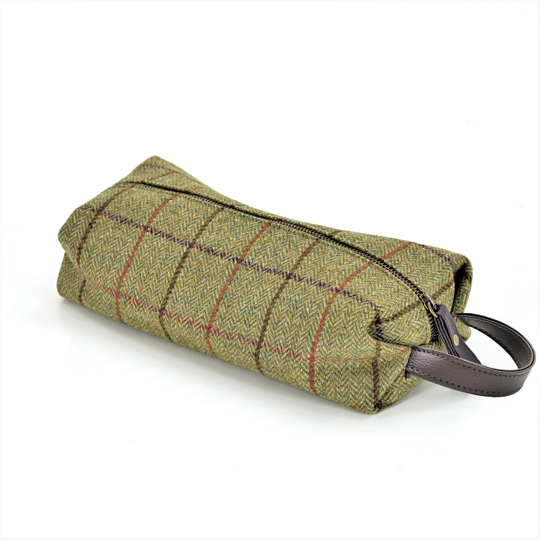 Washbag Tweed Kulturbeutel Tweed Tweedmill